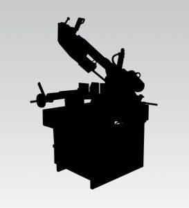 Tračne pile MACC ručno upravljanje uz potporu hidrauličke kočnice